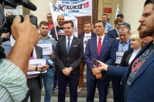 """Konferencja prasowa w sprawie projektu """"Samorządy z Kukizem"""""""