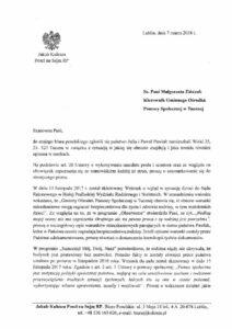 Sprawa Rodziny Pawlak z gminy Tuczna trafiła do biura poselskiego.